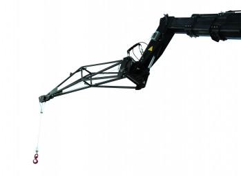 Potence treuil 1500 Kg pour chariot télescopique rotatif