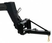 Potence orientable pour chariot télescopique
