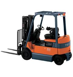 Chariot élévateur industriel électrique 4 roues 2T/3T